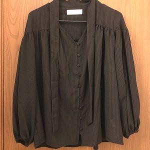 Women's blouse black